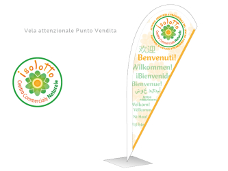 SUPPORTI CENTRO COMMERCIALE NATURALE